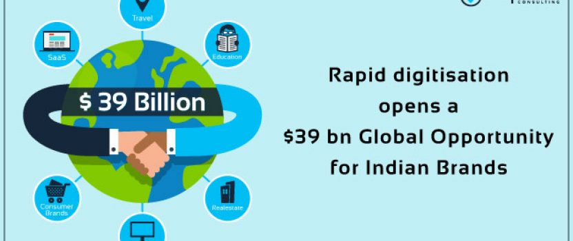 Rapid digitisation opens a $39 bn global opportunity for Indian Brands