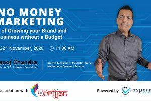 No Money Marketing Workshop with Shree Srijjan
