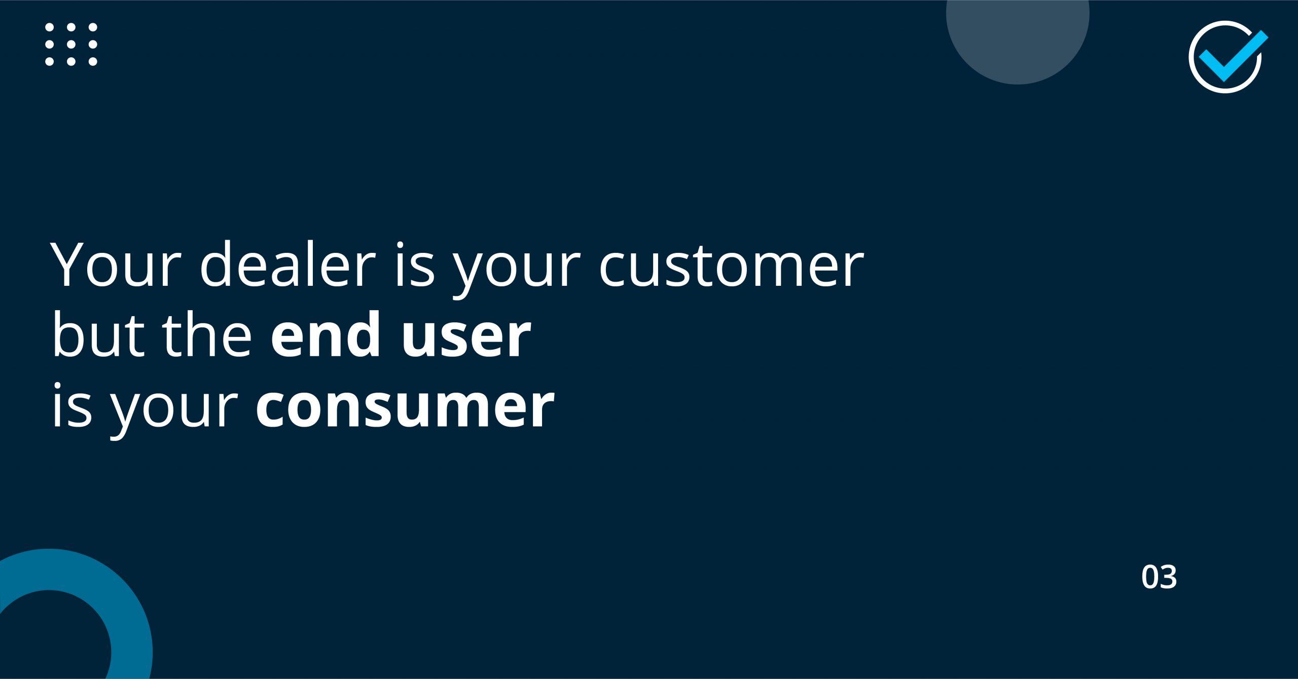 understanding end user, consumer