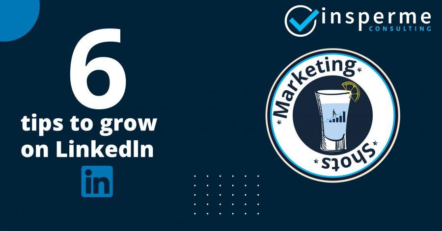 6 Tips to grow on linkedin